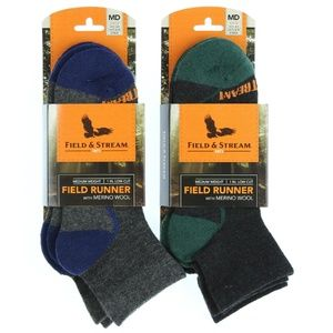 Field & Stream Bundle of 2 Low Cut Socks (4 Pair)